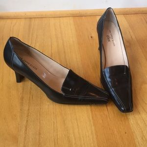 Leather heel